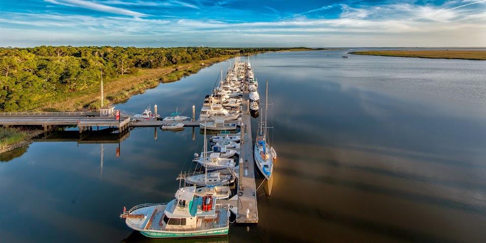 Jekyll Harbor Marina in Jekyll Island, GA