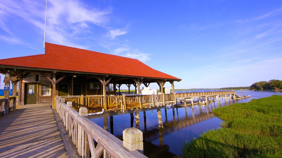 Hampton River Marina in St. Simons Island, GA