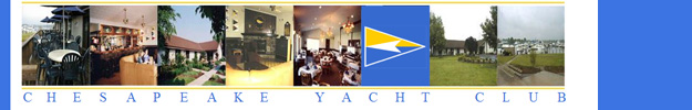 Chesapeake Yacht Club BANNER