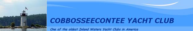 Cobbosseecontee Yacht Club BANNER