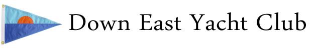 Down East Yacht Club BANNER