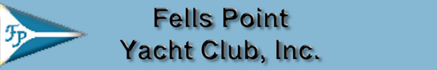 Fells Point Yacht Club BANNER