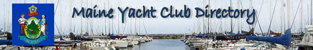 Maine Yacht Club STATE BANNER