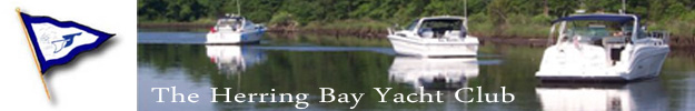 The Herring Bay Yacht Club BANNER