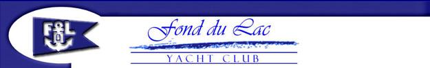 Fond du Lac Yacht Club BANNER