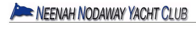 Neenah Nodaway Yacht Club BANNER