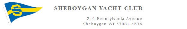 Sheboygan Yacht Club, Inc. BANNER