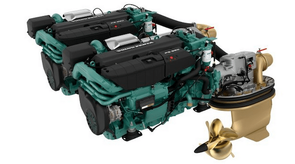 Boat Engines: Volvo IPS Engine and Drive Systems for Boats 2013
