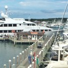 A breathtaking view of the new office location at the Montauk Yacht Club