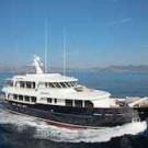 The Lynx yacht Heliad II