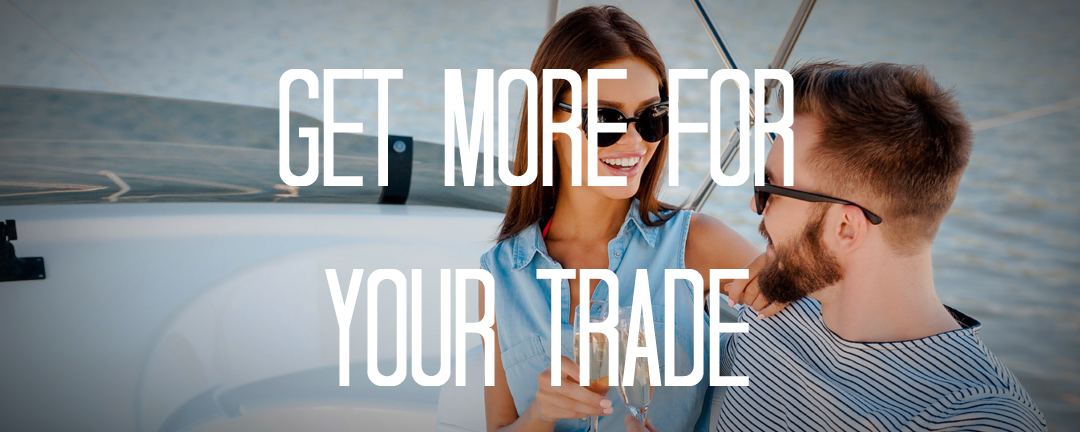 Trade in your boat for a new yacht with Denison Yacht Sales