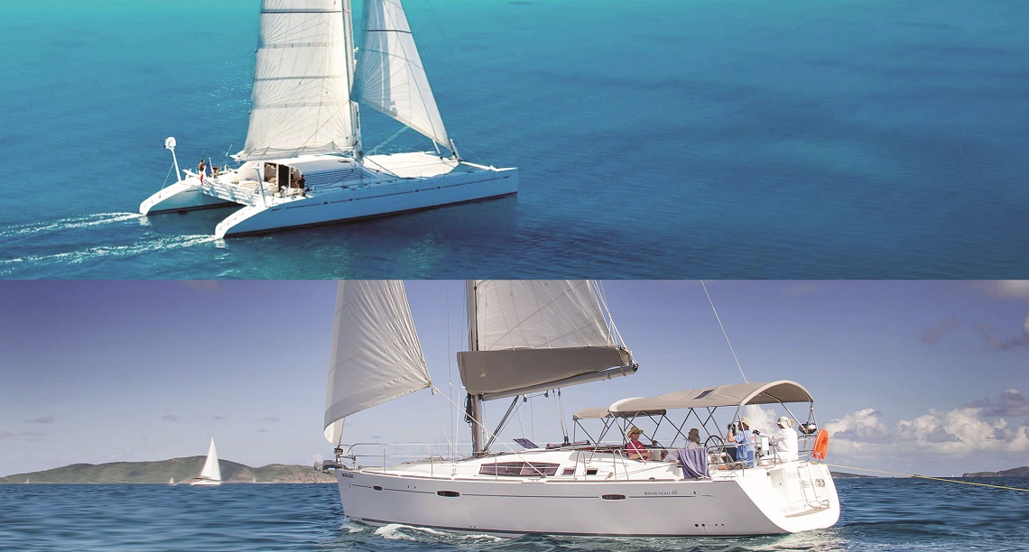Denison Debates: Catamarans vs. Monohulls