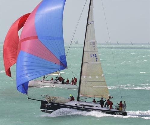 Mike Kiely - Thin Ice sailboat