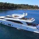 Superyacht ARION is listed with Denison Yacht Sales
