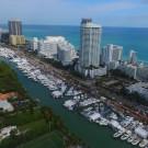 Yachts Miami Beach Aerial