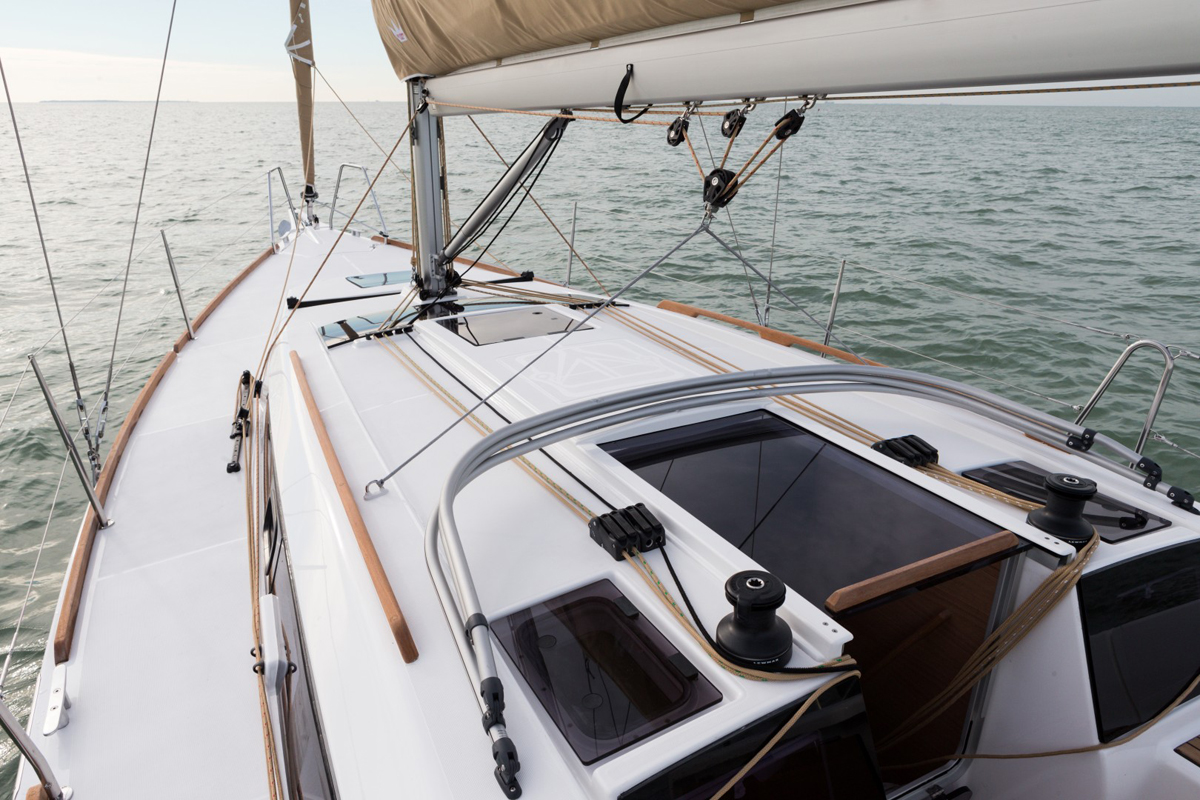 Dufour 360 Grand Large — Stable and Effortless