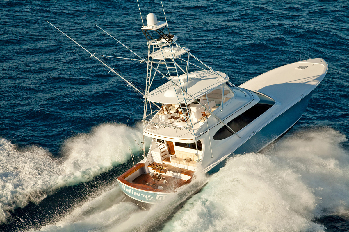 Hatteras GT70 — For the Tournament Angler