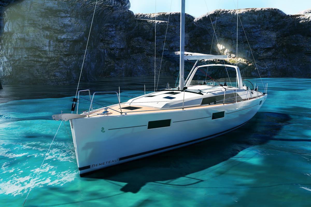 Beneteau Oceanis 41 — Exterior Design