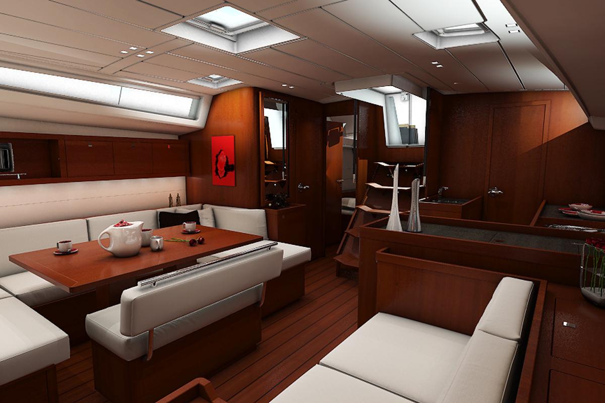 Beneteau Oceanis 48 — Interior Design