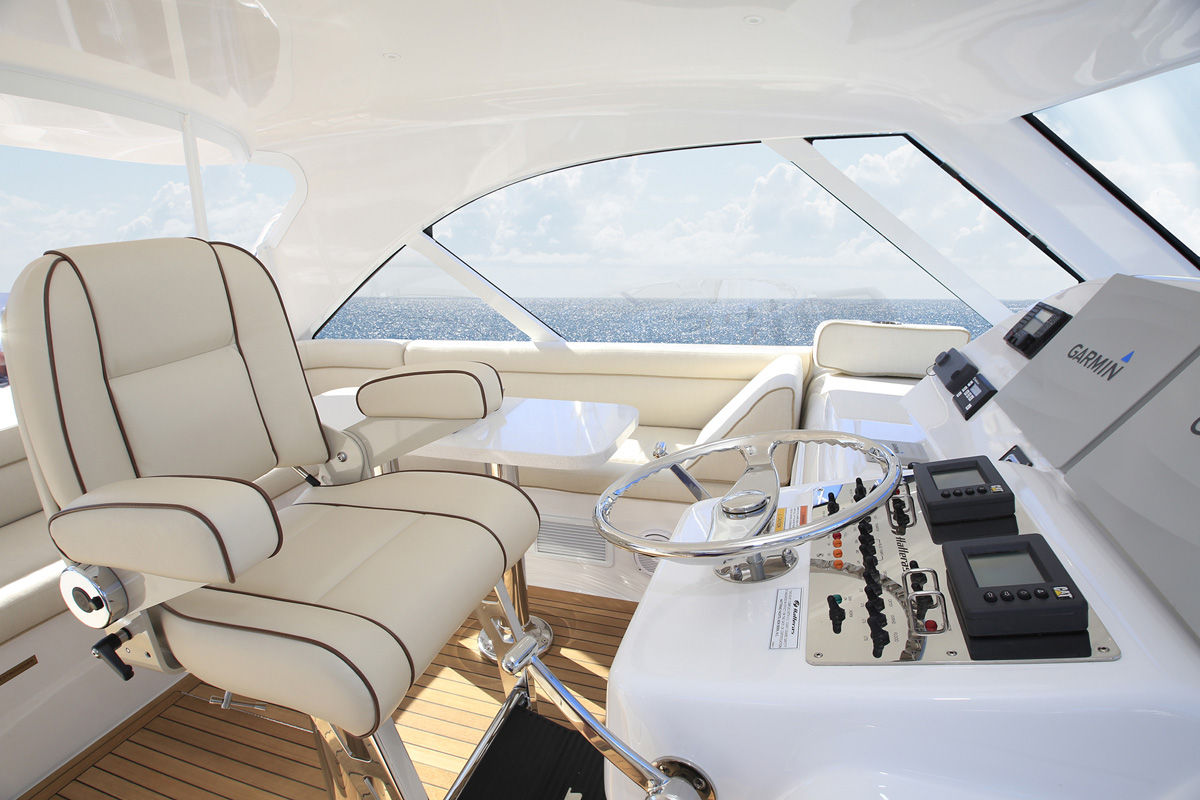 Hatteras GT45X — Loaded with Features