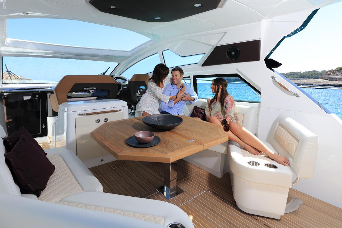Beneteau Gran Turismo 46 — Inviting Interior