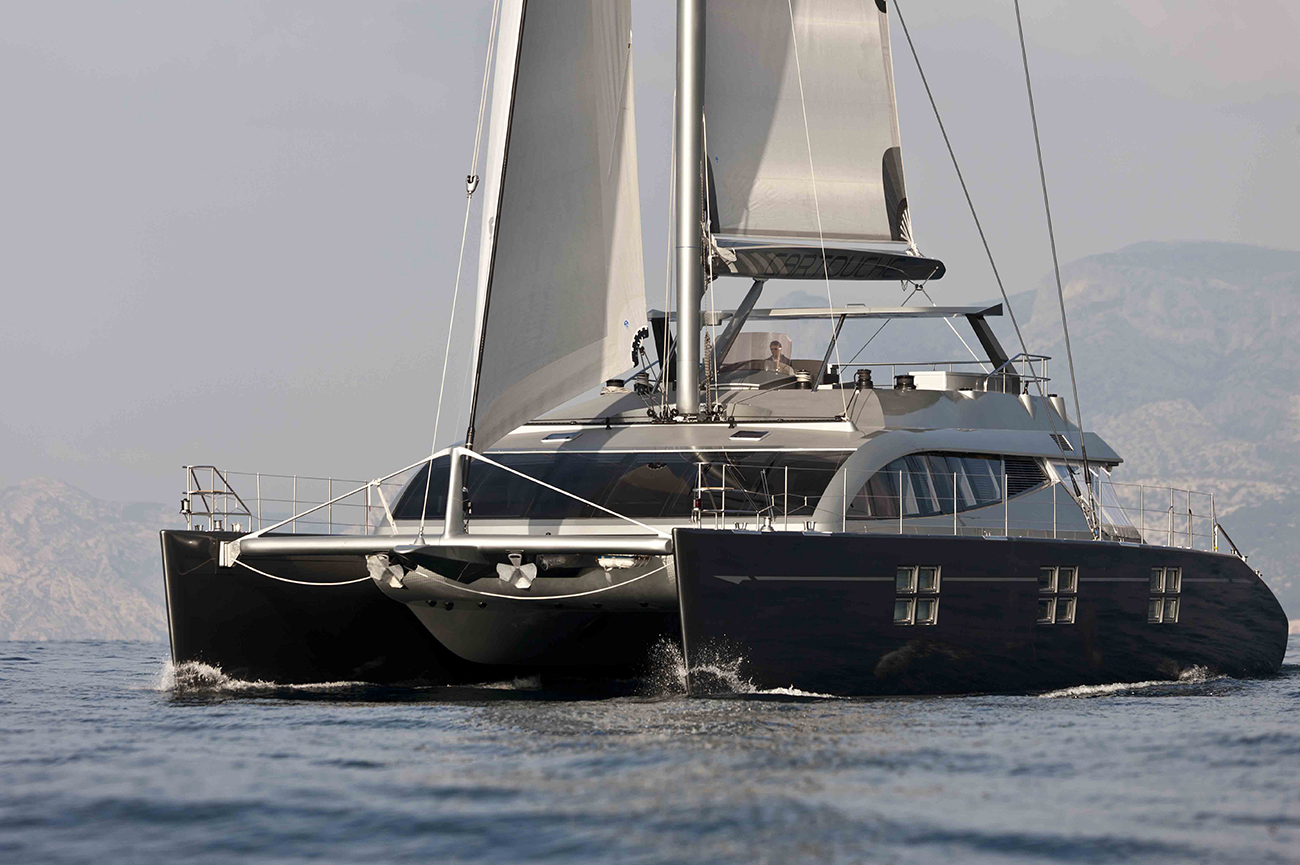 Sailing Cat 'Cartouche' Sold By Cath Yachts & Denison
