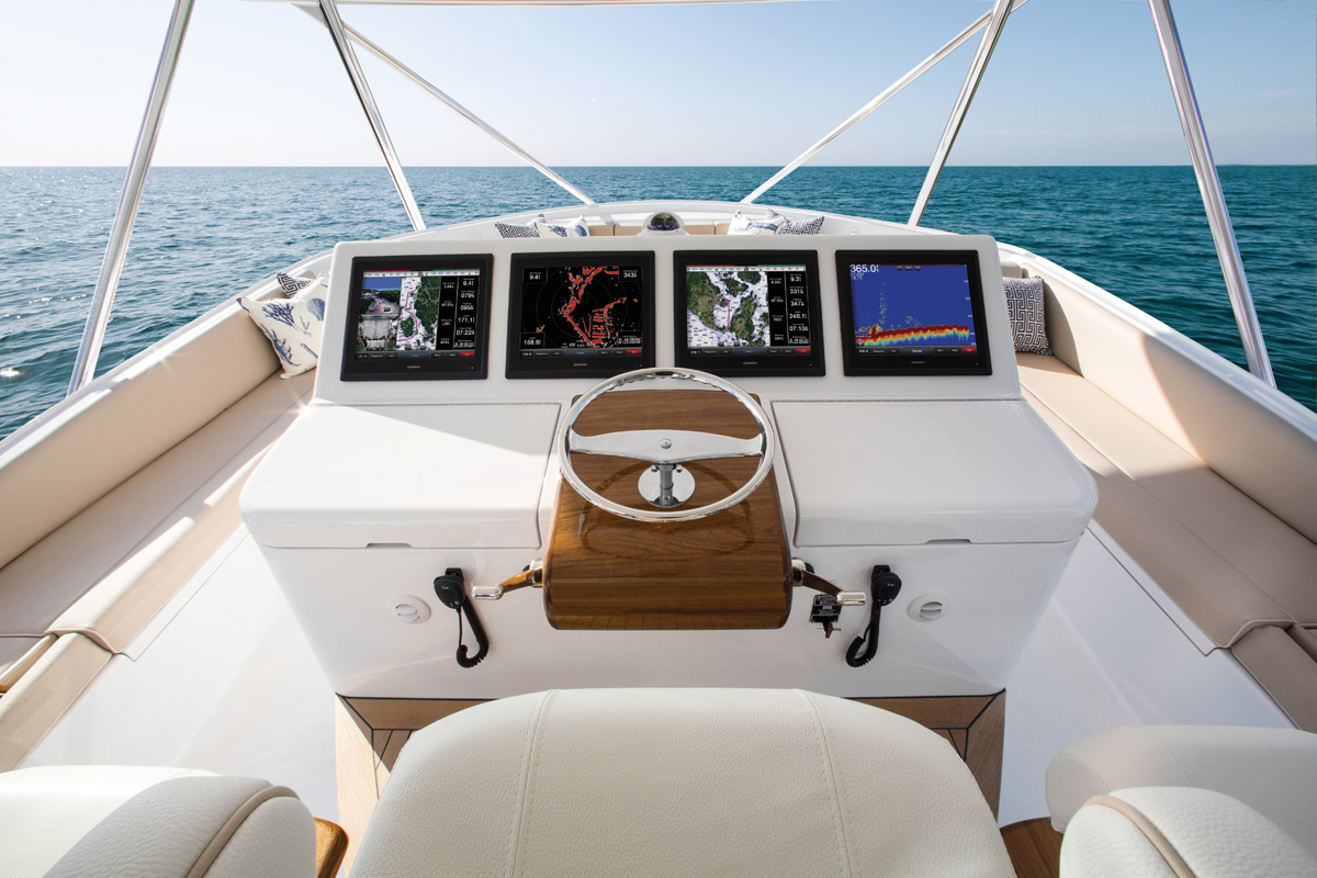 Hatteras GT70 — Full Control