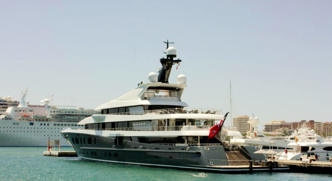 Yachts superyachts foreign flagged yacht