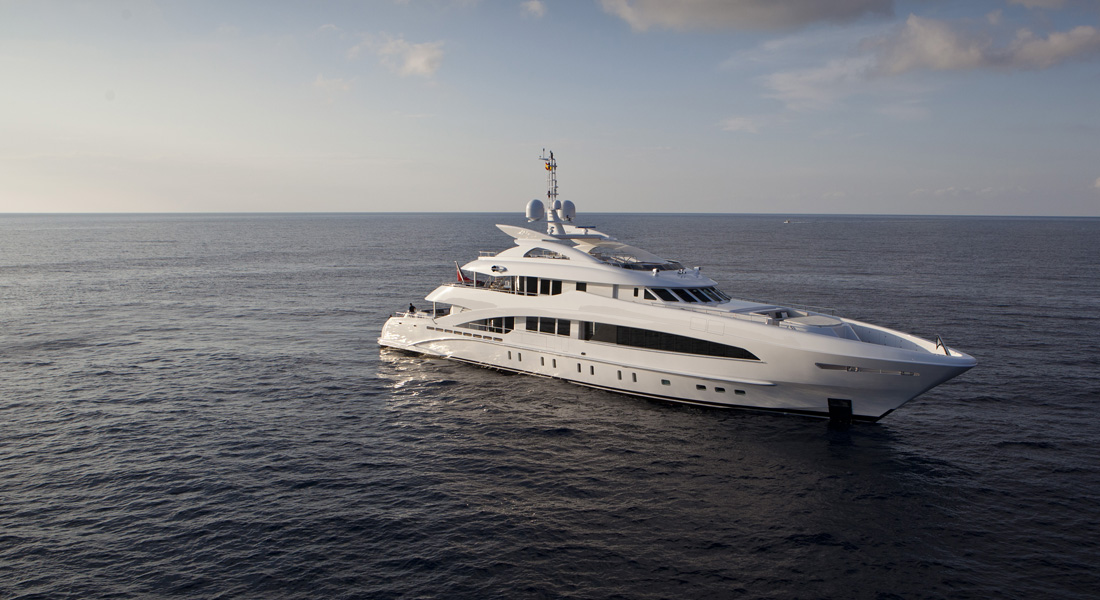 Superyacht yachts foreign flagged yacht