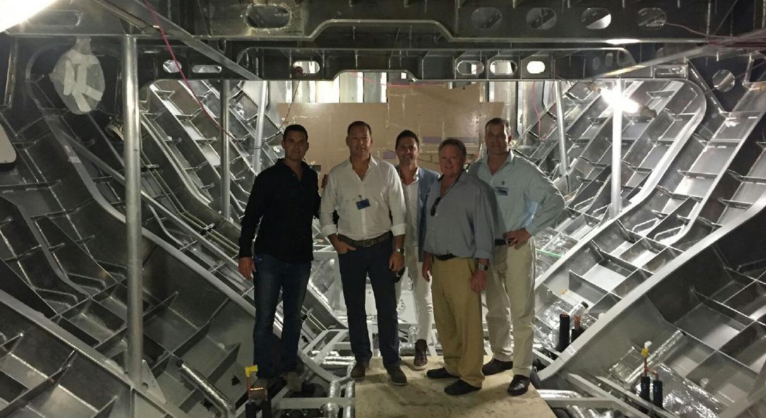 Superyacht Shipyard Tour 2016