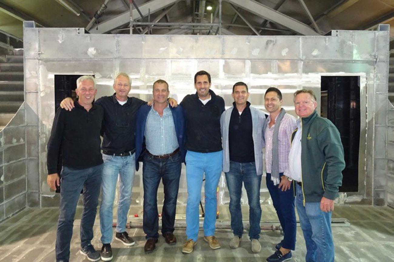 Denison Superyacht Brokers Embark on Shipyard Tour