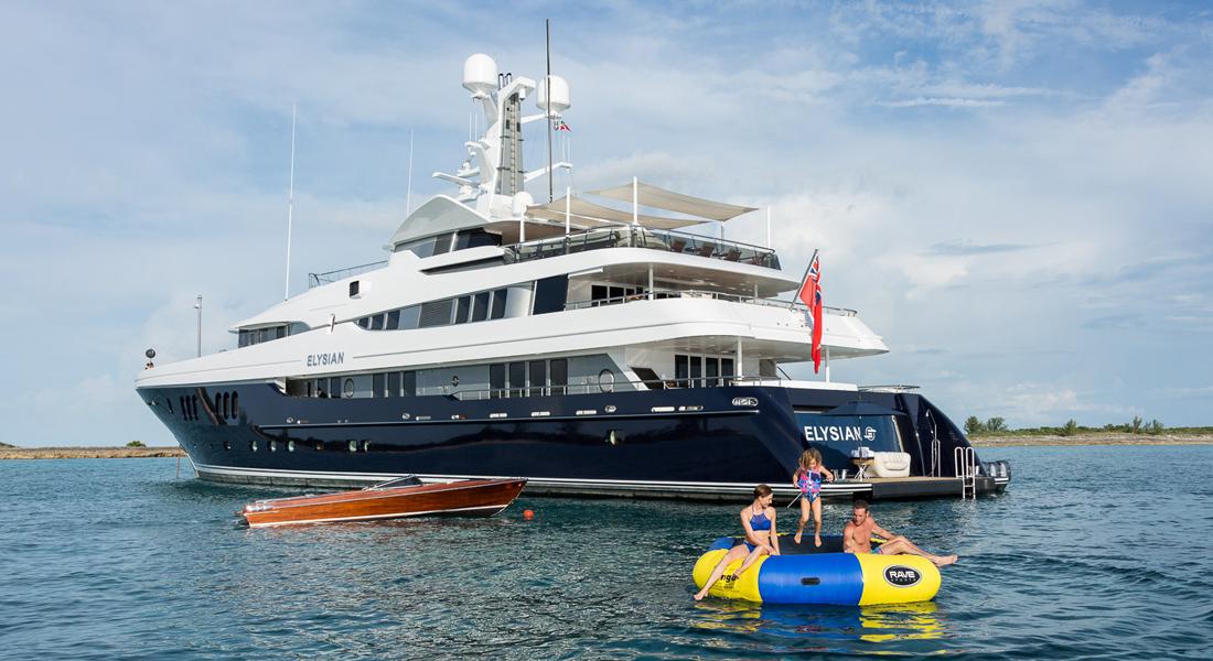 Elysian yacht charter superyacht toys