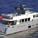 Van der Valk 24M fast displacement hull trawler motoryacht