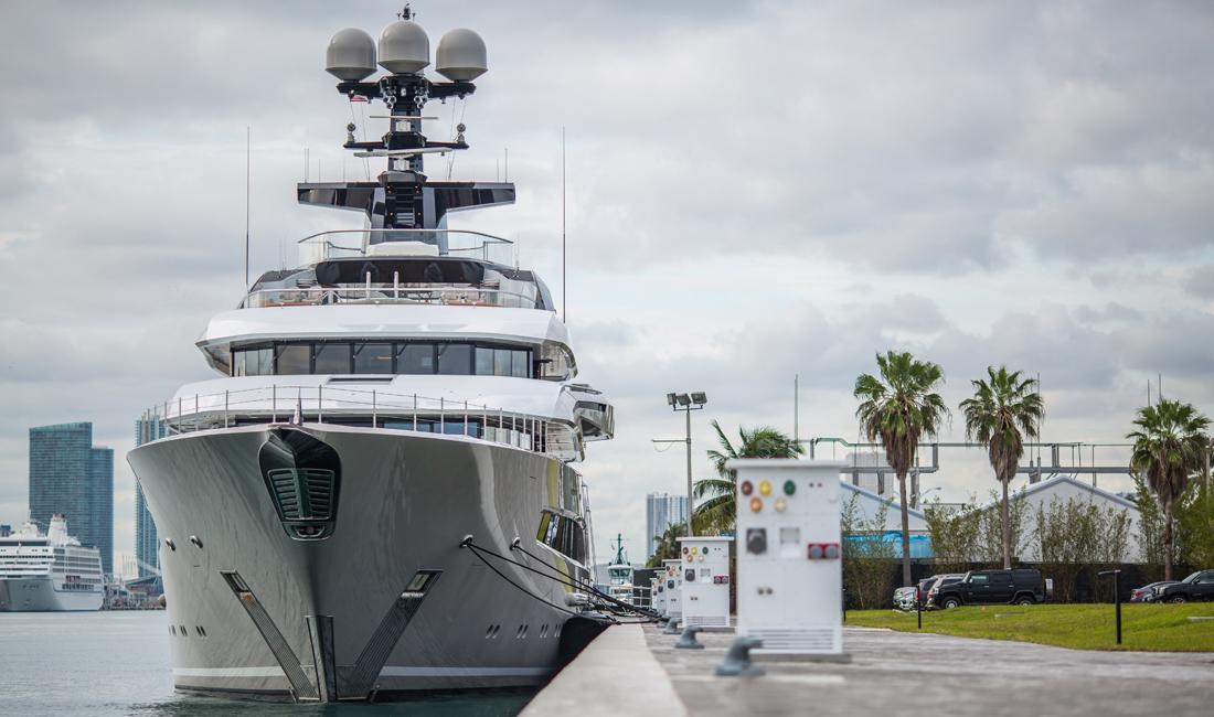 superyacht marina megayacht facility