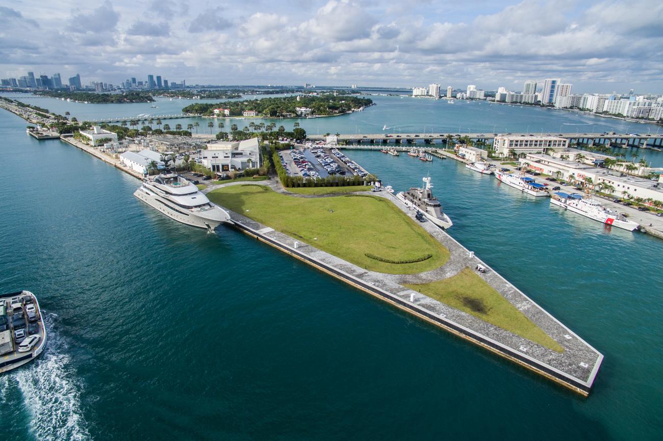 IGY Marinas Adds Superyacht Facility in Miami Beach