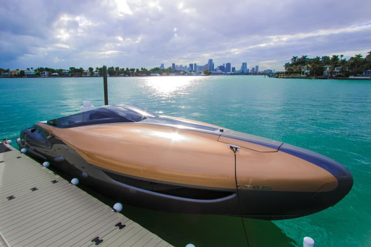 Marquis Yachts Toyota And Lexus Partner To Build Concept Boat