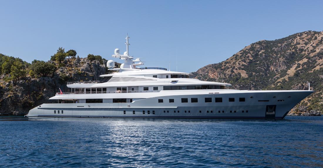 Axioma superyacht Miami boat show