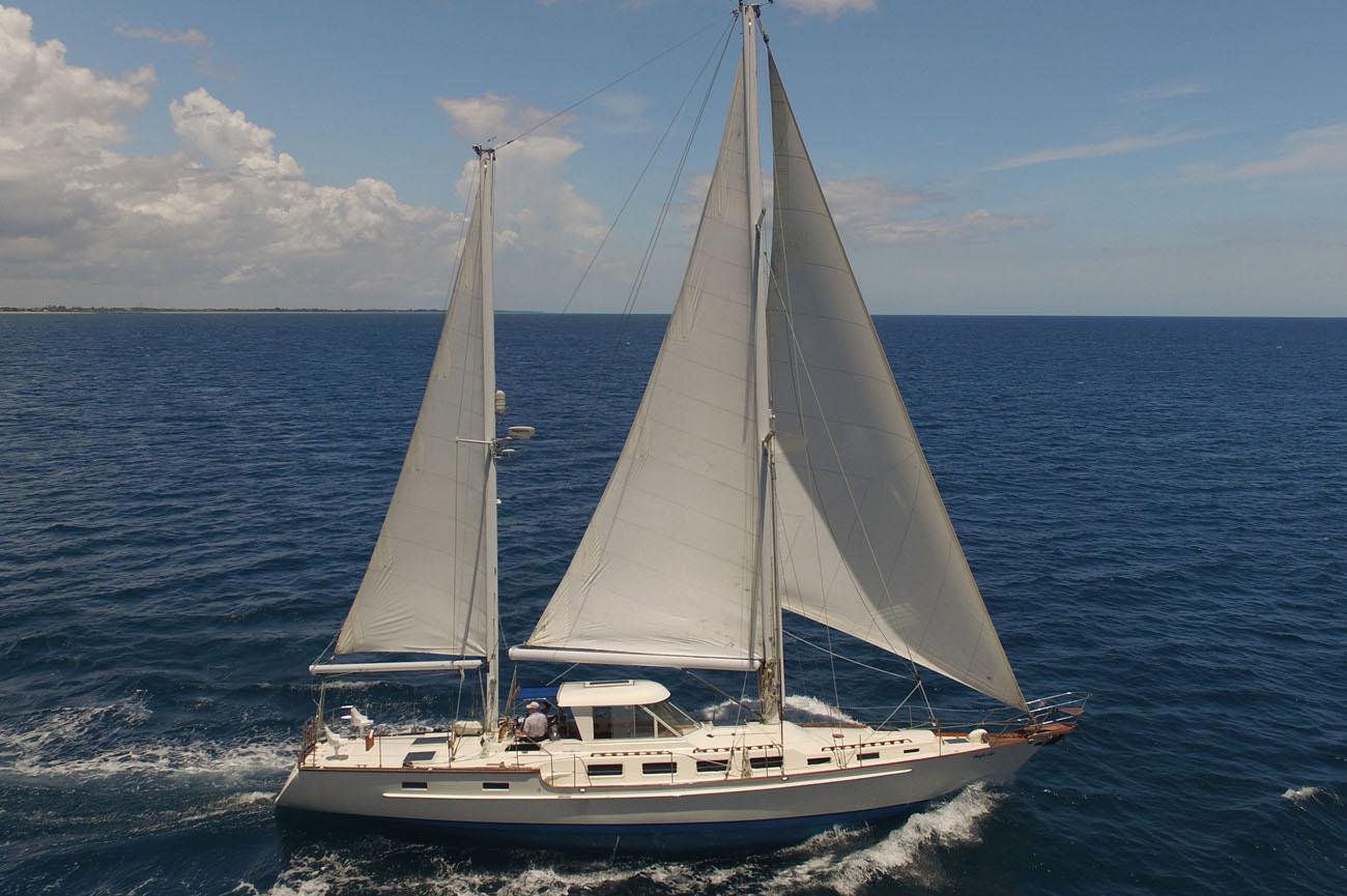 Ketch 63 Sailboat Tour Walkthrough Video