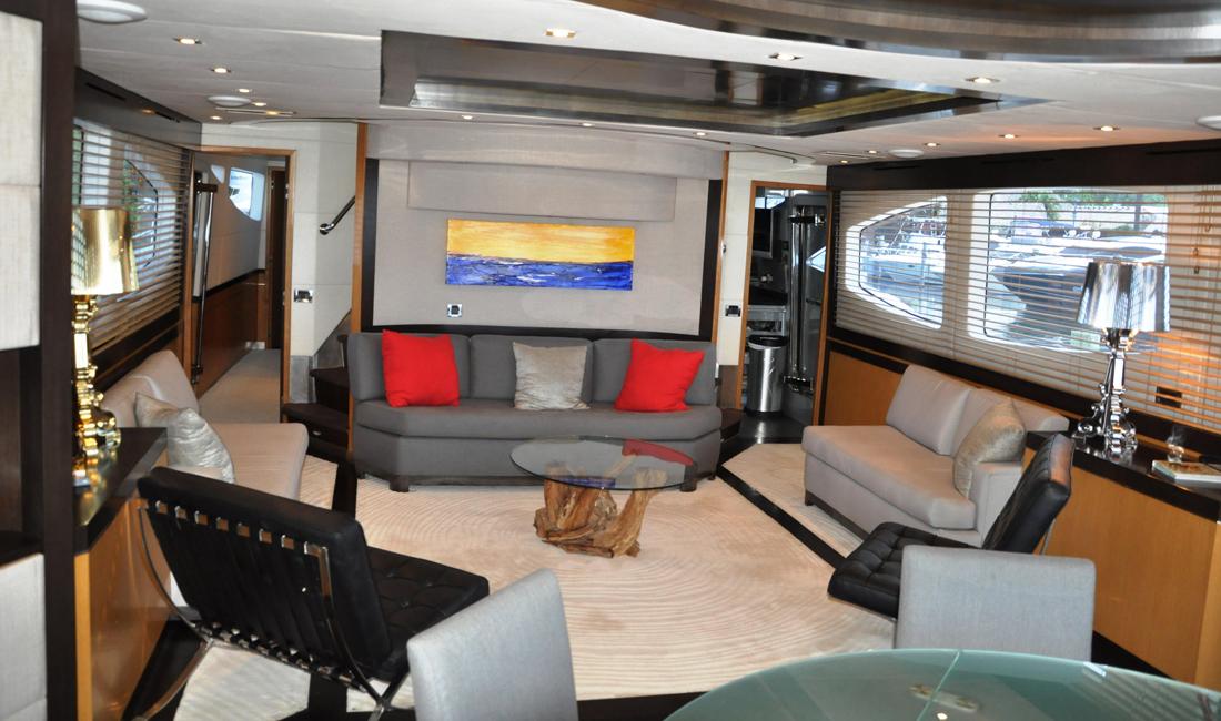 90 Eagle motoryacht MIA walkthrough video