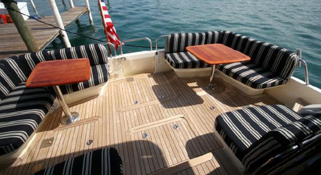 54 Sabre downeast yacht walkthrough video