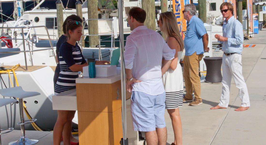 Denison Fort Lauderdale International Boat Show Market Kiosk