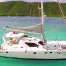 Virgin Islands sailin catamaran charter yacht