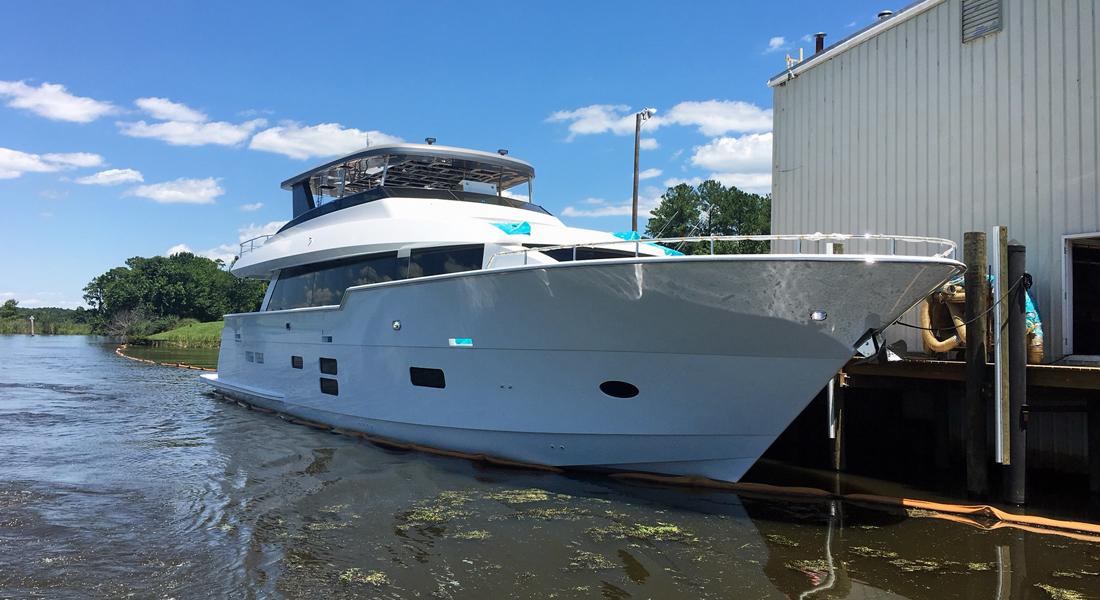 Hatteras sportfish motoryachts factory tour