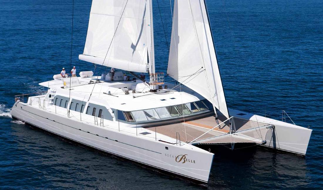 Richard Branson sailing catamaran for sale Denison Yachting