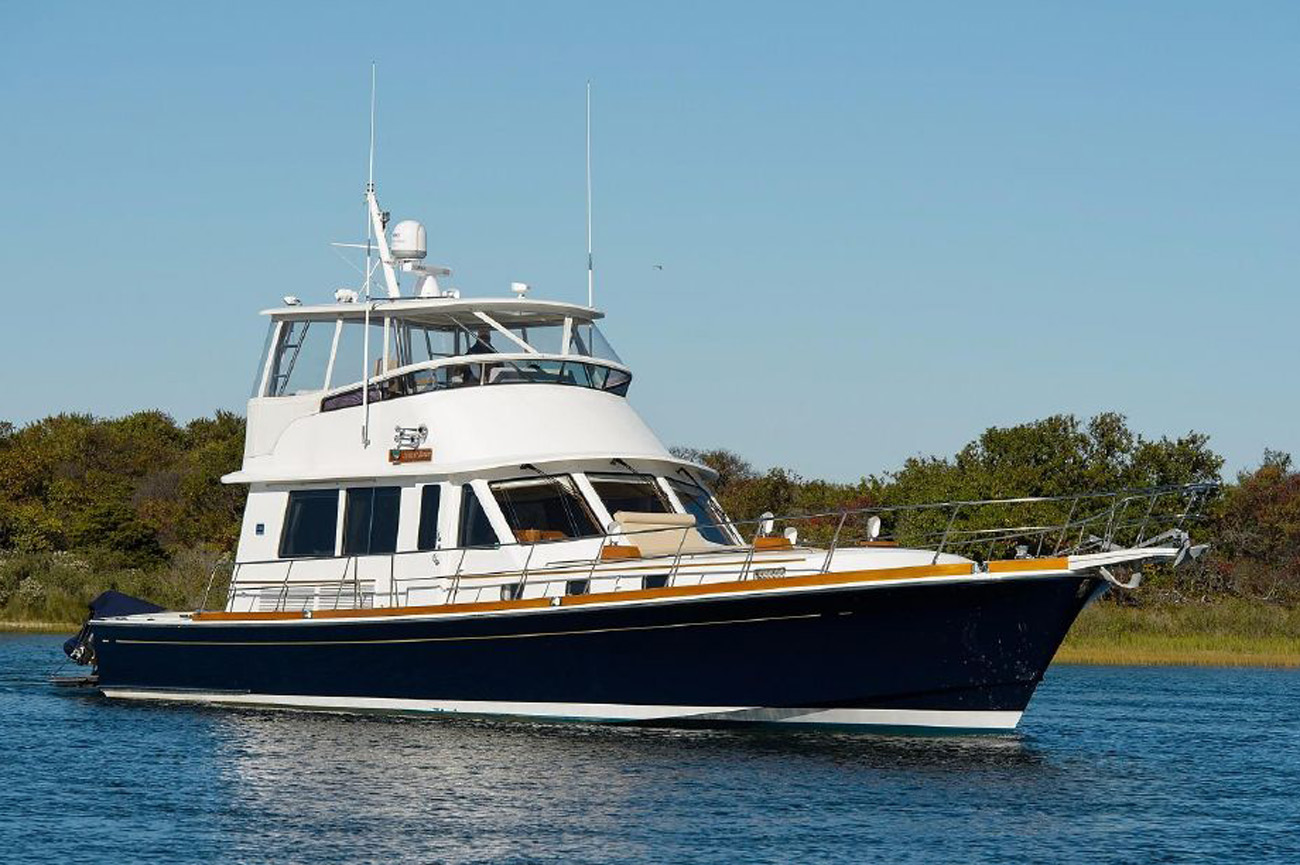 Grand Banks 58 Eastbay Yacht Sold by Patrick Hopkins
