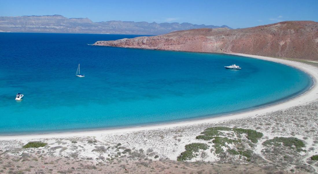 7 Day Mexico Yacht Charter Itinerary Baja California La Paz To Cabo San Lucas