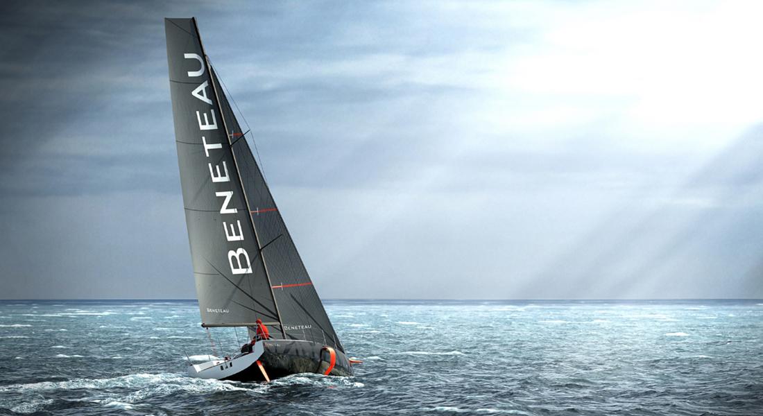 Beneteau Figaro 3 racing sailboat sailing