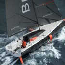 Beneteau Figaro 3 racing sailboat sailing