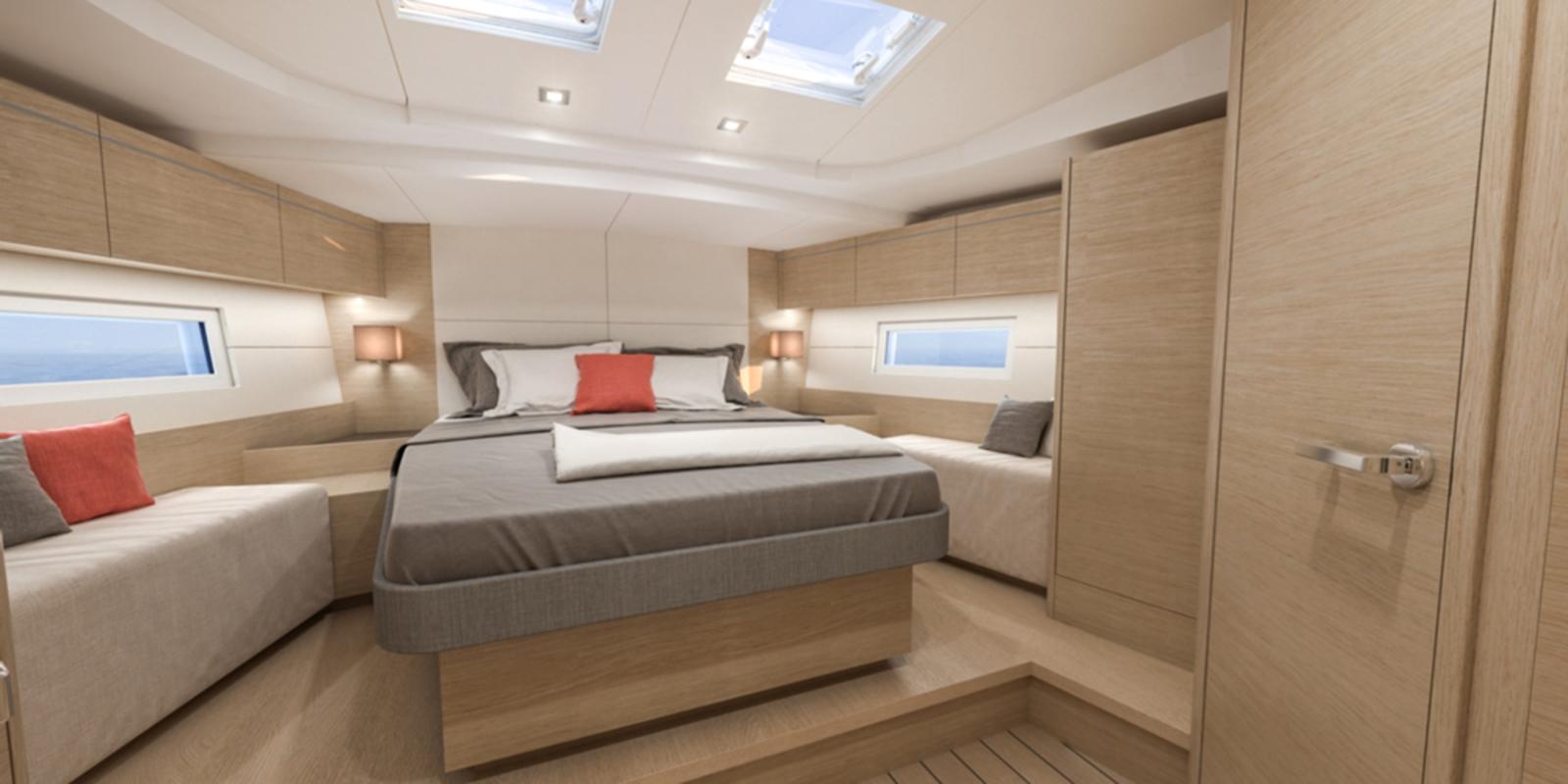Beneteau Oceanis 51 — Cabins