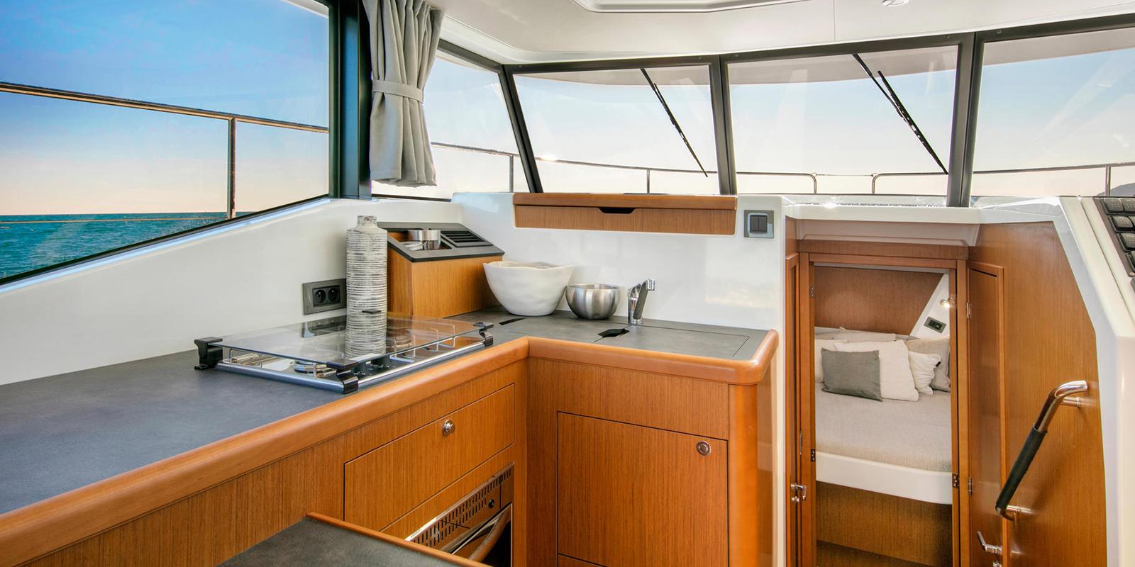 Beneteau Swift Trawler 35 — Galley